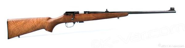 Picture of MP22 Precision rifle, .22LR Premium walnut stock