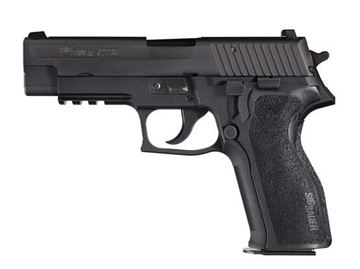 Picture of P226®..Black Nitron Finish, Contrast Sights, 1-Piece Enhanced E2 Grip..