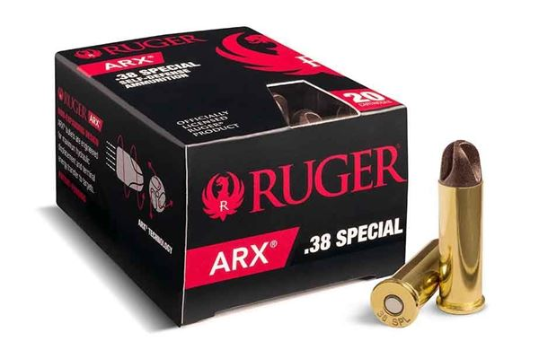 Picture of Ruger ARX .38 Special Ammo, 200 Rounds Box (20 Cartridges X 10 Case)