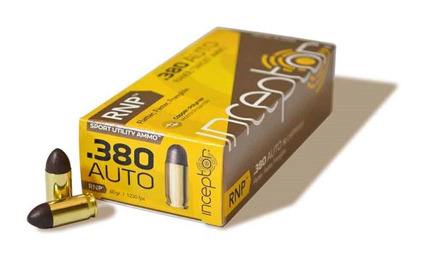 Picture of Polycase .380 Auto 60gr RNP Lead Free Ammo - Box of 50