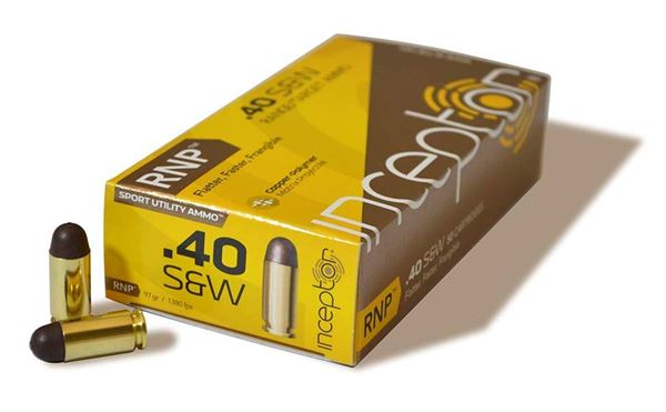 Picture of Polycase Ammunition 40 S&W 97 Grain Injection Molded Copper Polymer RNP 50 Round Box