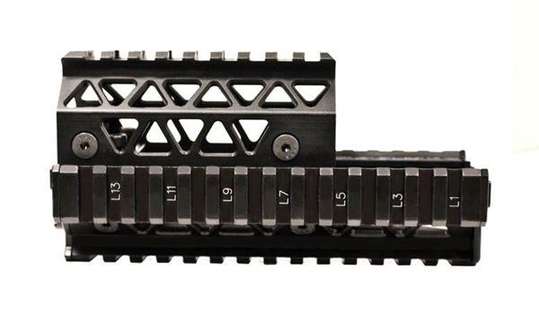 Picture of Arsenal Precision Picatinny Quad Rail Handguard System
