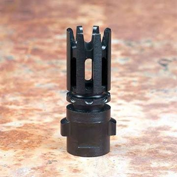 Picture of QUICKMOUNT 5.56, Carbon Cutting Flash Hider, threaded 1/2x28
