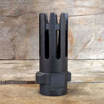 Picture of QUICKMOUNT 7.62, Carbon Cutting Flash Hider, threaded 5/8x24