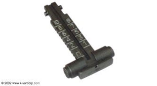 Picture of Rear Sight leaf Assembly for 5.45x39 mm caliber, 1000 meters, Arsenal Bulgaria