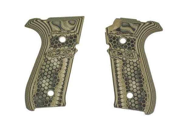 Picture of Hogue Mascus Green Grip Panels for Rex Zero 1S