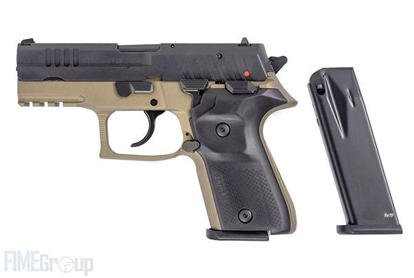 Picture of Rex Zero 1CP Pistol, FDE, 9mm, Semi-Automatic, With Two 10-Round Magazines and Hard Case