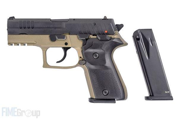 Picture of Arex Rex Zero 1CP-03 9mm Flat Dark Earth Semi-Automatic 15 Round Pistol