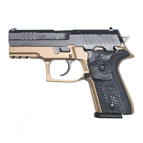 Picture of Arex Rex Zero 1CP-03B 9mm Flat Dark Earth Semi-Automatic 15 Round Pistol