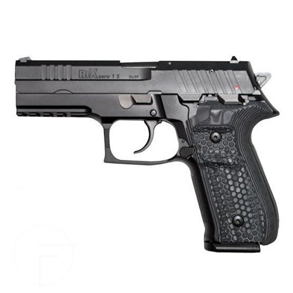 Picture of RexZero1S Blk 17rnd 9mm Blk Grips