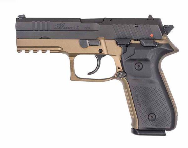 Picture of Rex Zero 1 Pistol – FDE, 9mm, Semi-Automatic, Two 17-Round Magazines