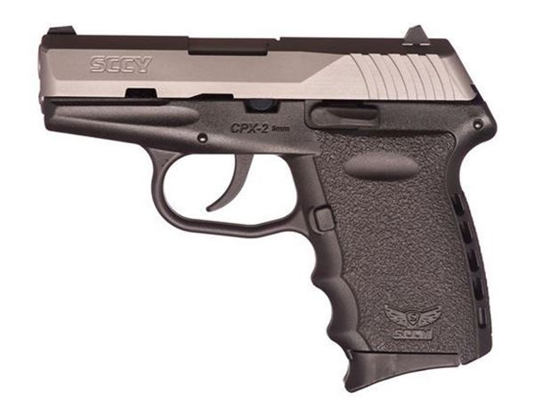Picture of SCCY CPX-2 TT 9 mm Subcompact Pistol CPX2TT
