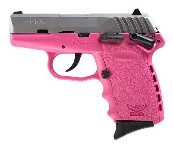 Picture of SCCY CPX-1 TT Pink Pistol
