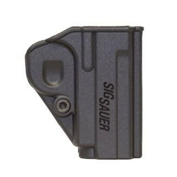Picture of SIG SAUER..Concealment Holster, P238, Black Polymer, Clip Attachment..