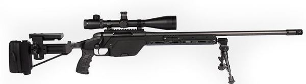Picture of Steyr Arms SSG08 338 Lap Black Bolt Action 6 Round Rifle