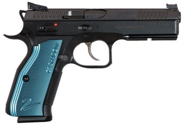 CZ Shadow 2 with Blue Grips and 3 17 round magazines