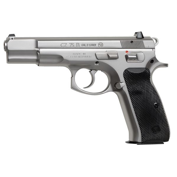 Picture of CZ 75 B Matte Stainless 9mm