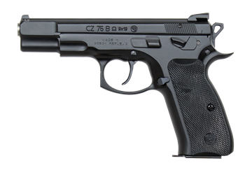 Picture of CZ 75 B Omega, 9mm, BLK - 10rd mags - swappable safety/decocker