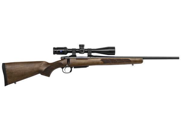Picture of CZ 557 Sporter .308 Win (Short Action) Features a Walnut stock