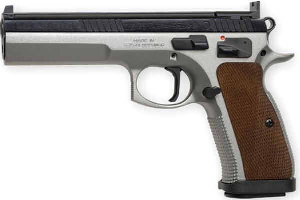 Picture of CZ 75 Tactical Sport 9mm dual tone- 01172