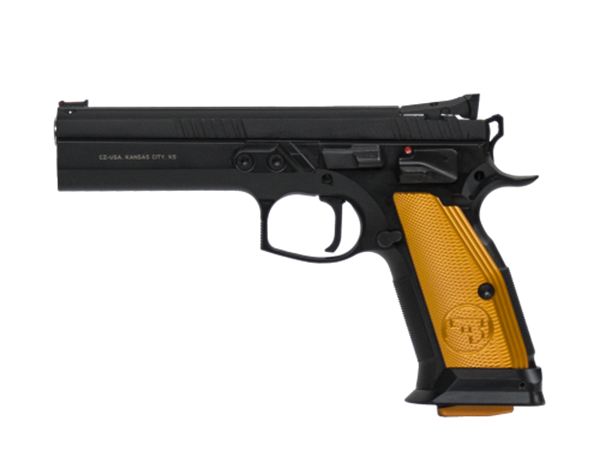 Picture of CZ 75 TS Orange 9mm 20rd Mag
