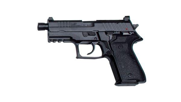 Rex Zero 1TC, Pistol, 9mm, Semi-Auto, Tactical Compact Size, (1)15rnd & (1) 17rnd Magazines