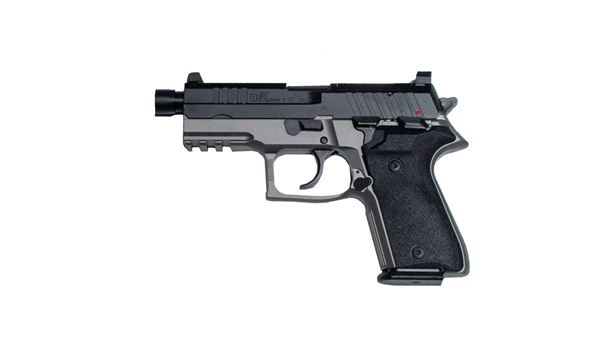 Rex Zero 1TC, Grey Pistol, 9mm, Semi-Auto, Tactical Compact Size, (1)15rnd & (1) 17rnd Magazines