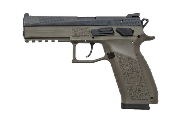 CZ P-09 OD Green – 9mm Pistol 19rd Magazine