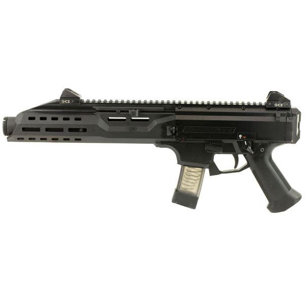 Picture of CZ Scorpion EVO 3 S1 Pistol w/ Flash Can