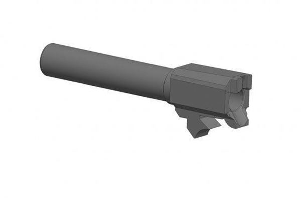 "Picture of 4.3"" 9mm replacement barrel for the RexZero1 Series of pistols"