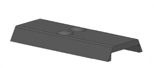Picture of Slide Cover plate for the RexZero 1 Tactical models