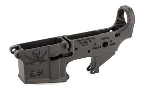 Picture of Lower Receiver Stripped - w/Calico Jack Logo Spike's Tactical