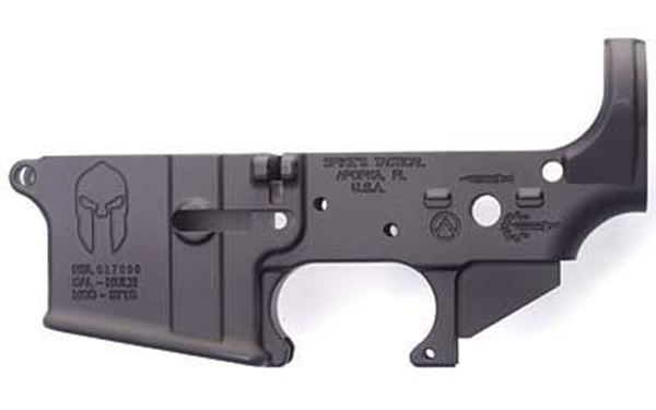 Picture of Lower Receiver Stripped - w/Spartan Logo Spike's Tactical