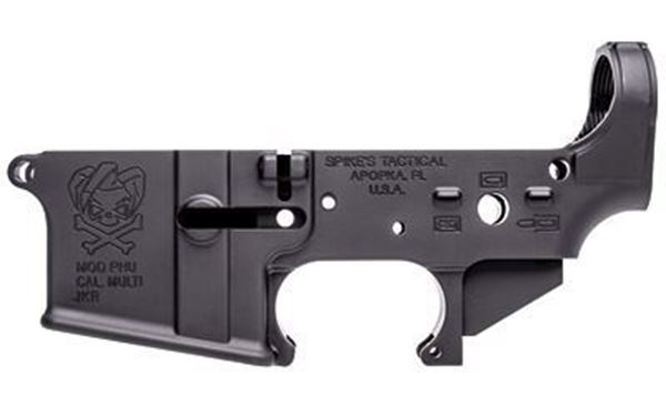 Picture of Lower Receiver Stripped - PHU Joker Logo Logo Spike's Tactical