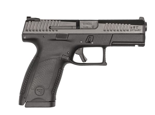 Picture of CZ P-10 C 9MM, Black, 15rd, Reversible Mag Catch