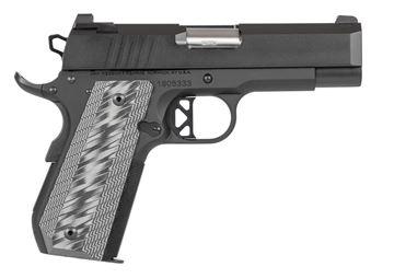 Picture of Dan Wesson Enhanced Commander 9mm Black Single Action 9 Round Pistol