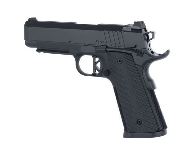 Picture of Dan Wesson Tactical Commander 9mm Black Single Action 9 Round Pistol