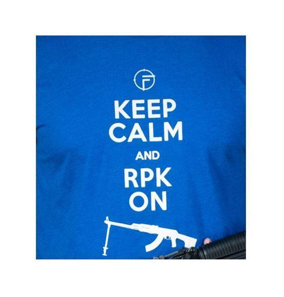 Picture of FIME T-Shirt Royal Blue Premium