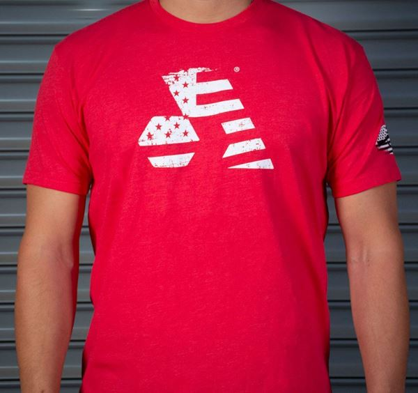 Picture of Arsenal T-Shirt Red Premium Short Sleeve