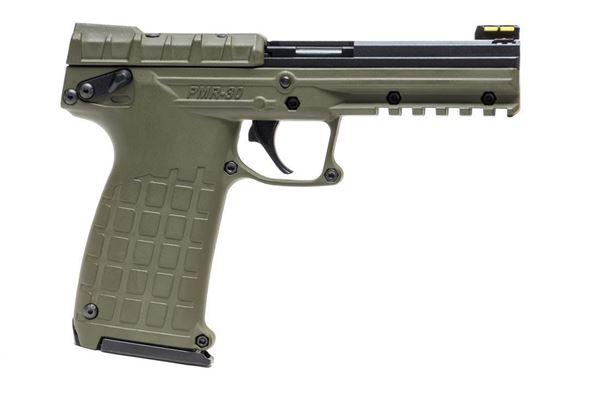 KelTec PMR30 22 WMR 30rd Pistol Black Slide OD Green Frame