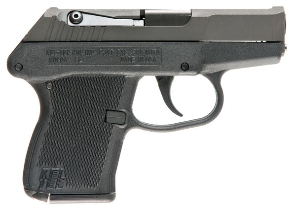 "KelTec P-3AT Semi Automatic Pistol .380 ACP 2.7"" Barrel 6 Rounds Blued Slide Black Polymer Frame"