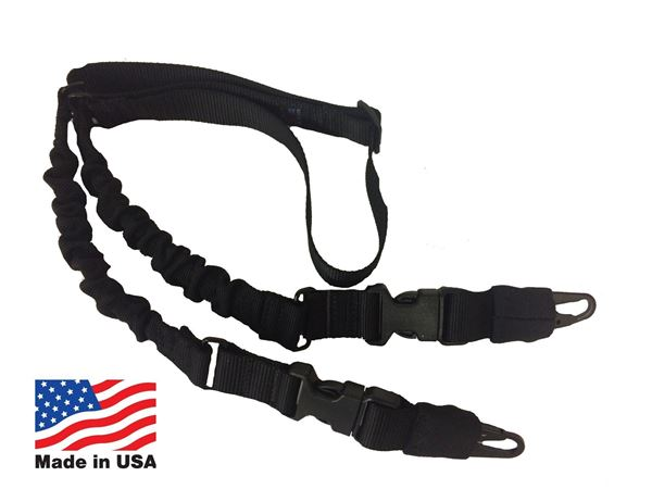 Picture of Hellfighter USA Made Single Point Rifle Sling Black