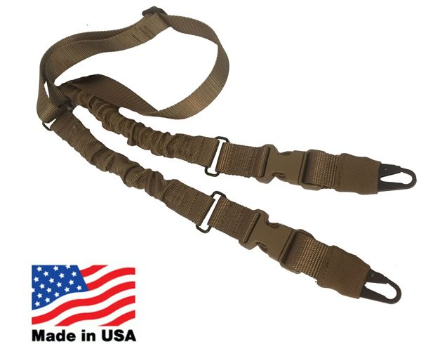 Picture of Hellfighter USA Made Single Point Rifle Sling Tan
