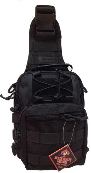 Picture of DDT Night Stalker Small Sling Bag - Black
