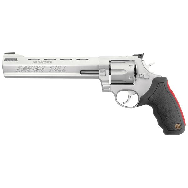 "Taurus Model 444 Raging Bull 44 Magnum 6RD 8.375"" Ported Barrel Revolver"