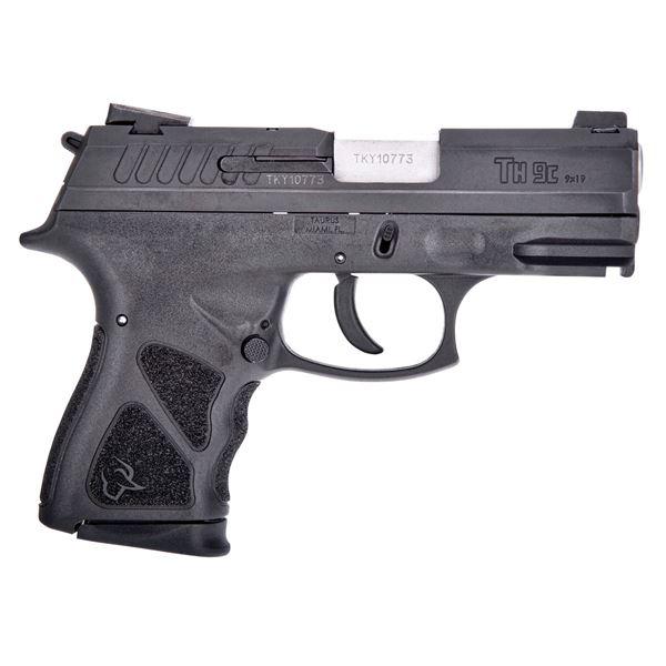 "Taurus TH9 Compact 9MM 17RD 3.54"" Barrel Semi-Automatic Pistol"
