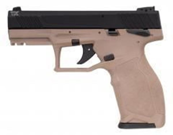 "Picture of Taurus TX22 .22 LR 10RD 4"" Barrel Semi-Automatic Pistol Black/Tan Finish"