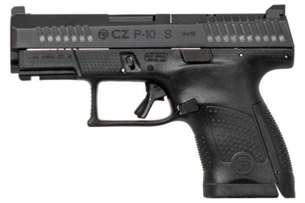 Picture of CZ P-10S 9mm Black Semi-Automatic 12 Round Pistol