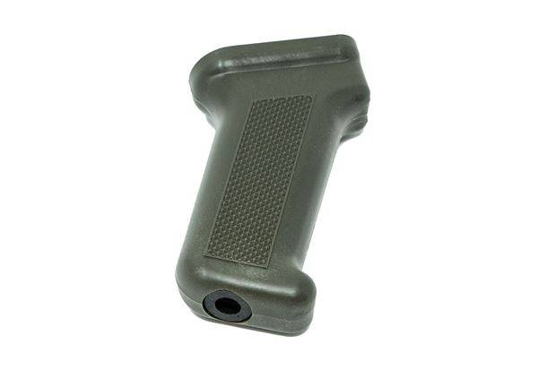 Pistol grip, for milled receiver, polymer, OD green, Arsenal, US made.