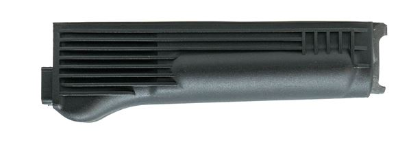 Lower handguard, for stamped receiver, polymer, black, stainless steel heat shield, US, Arsenal, Inc